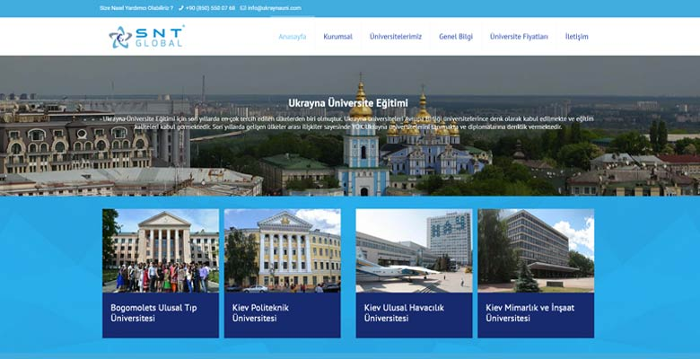 Ukrayna Üniversite Eğitimi